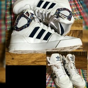 Rate Adidas Originals!! Women's Zestra High Tops!